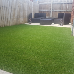 small but perfectly formed Grass Greener artificial lawn